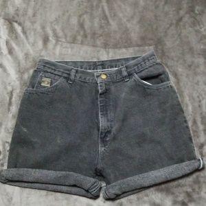 Wrangler Shorts - WRANGLER VINTAGE HIGH WAIST MOM JEAN SHORTS CUFF
